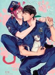 ずっとネコの相手をしている俺にお仕置きしてくれ!!www お仕置きなのにエロい顔して感じちゃうwww 【BL同人誌・Free!/C89】